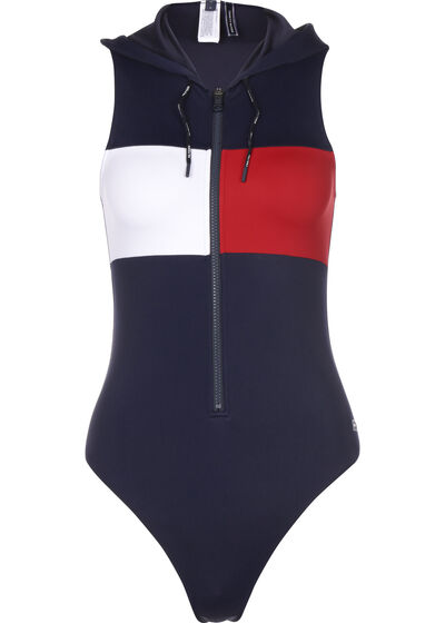 One-Piece with Hood