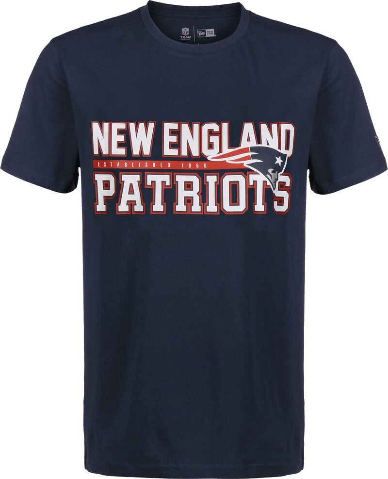 NFL Stacked Wordmark New England Patriots