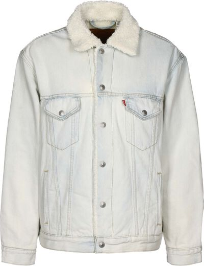 Vintage Fit Sherpa Trucker
