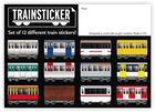 Train Set A4 12 pcs