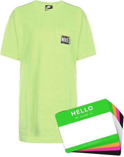 Nike Wash Dress + HELLO Neon-Stickerpack | Green Pack