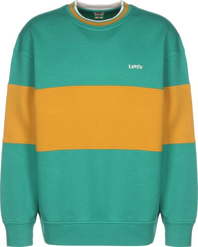 Color Block Tipped Crew
