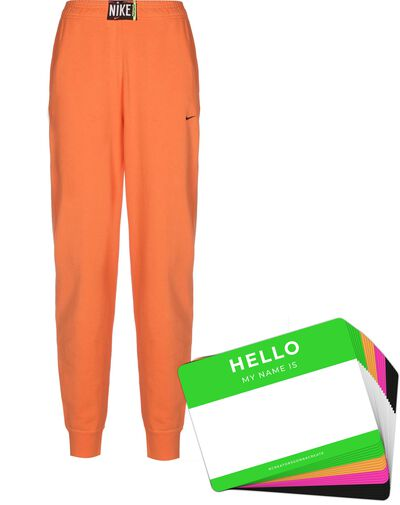 Nike Wash Pants + HELLO Neon-Stickerpack | Orange Pack
