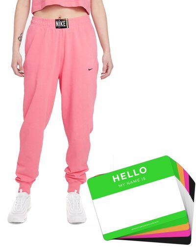 Nike Wash Pants + HELLO Neon-Stickerpack | Pink Pack
