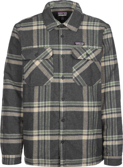Insulated Organic Cotton MW Fjord Flannel