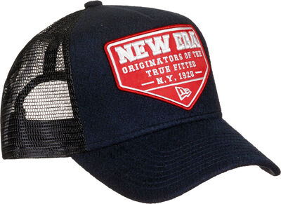 Wool Patch Trucker
