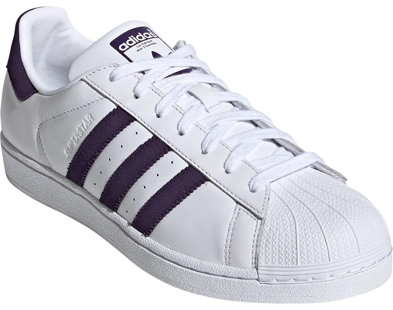 scarpa adidas superstar viola