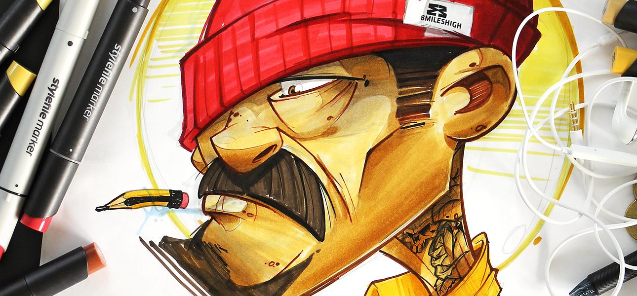 attrezzatura per graffiti