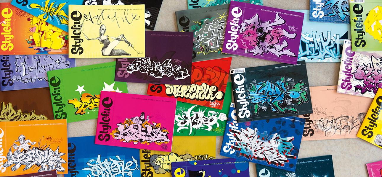 stylefile graffiti magazin
