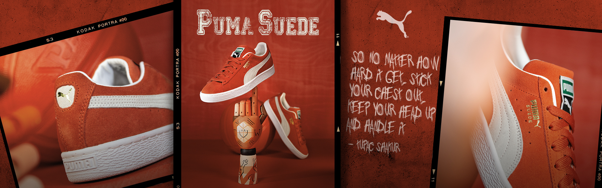 Puma Suede Red